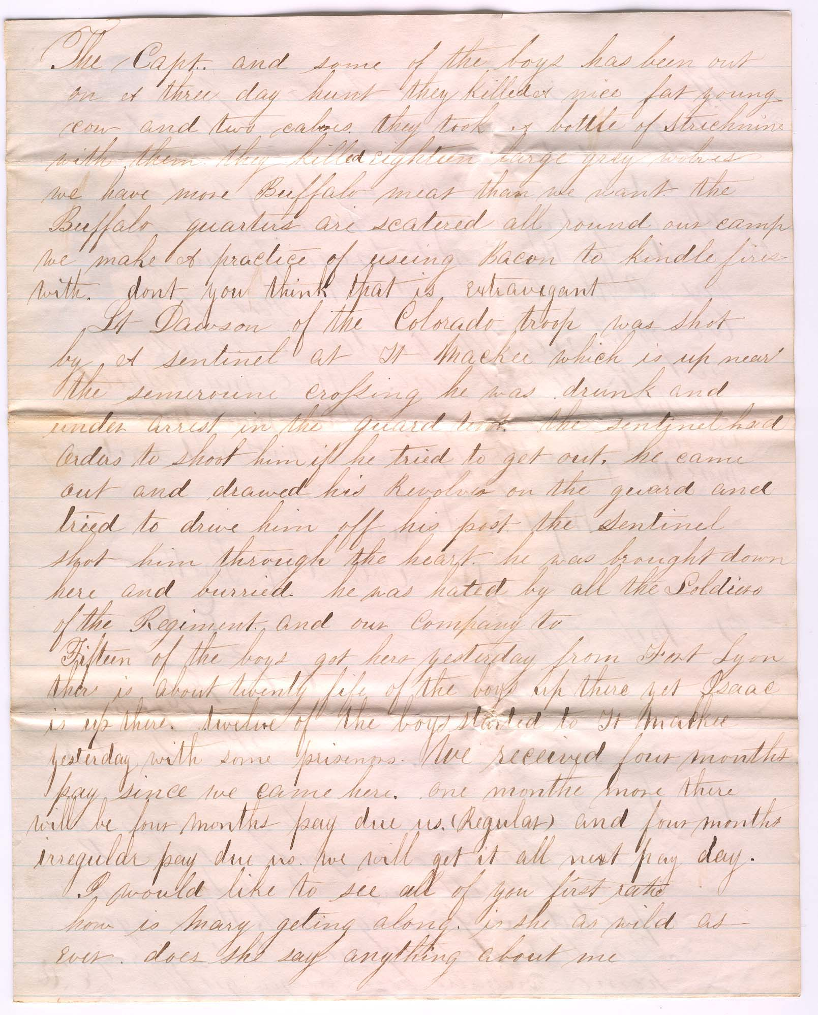 civil war letters This document is a letter from one daughter of robert hine, a surry county resident, to her sister this letter is an example of a citizens' reaction to the union.
